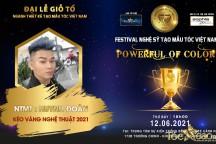 NTMT Huỳnh Đoàn khẳng định tài năng bằng đề cử Kéo vàng nghệ thuật tại Đại lễ giỗ tổ ngành tóc Việt Nam 2021