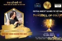 NTMT Nguyễn Trà khẳng định tài năng cùng đề cử giải thưởng danh giá tại Đại lễ giỗ tổ ngành tóc Việt Nam