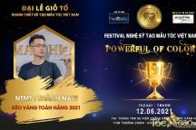 NTMT Thành Nam: Chờ đợi sự tỏa sáng trên sân khấu Festival nghệ sỹ tóc